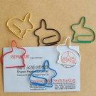 Lot of 96pcs Paper Clip Rabbit Animal Shaped/bookmark