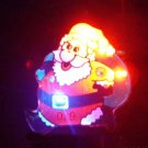Lot of 25pcs Christmas Santa Claus Pin Brooch CROSS Luminous Party Favor A2