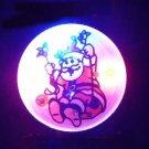 Lot of 25pcs Christmas Santa Claus Pin Brooch CROSS Luminous Party Favor A3
