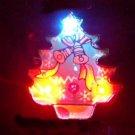 Lot of 25pcs Christmas Tree Pin Brooch Luminous Party Favor
