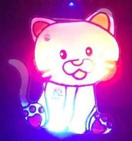 Lot of 25pcs Cat Animal Pin Brooch Luminous Party Favor