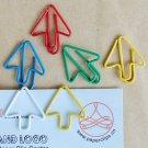 Lot of 96pcs Paper Clip ➹ ARROW ➹ Shaped/bookmark