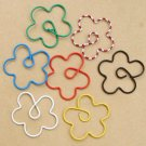 Lot of 96pcs Paper Clip ✿ Flower ✿ Shaped/bookmark