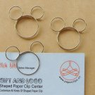 Lot of 96pcs Paper Clip  Mouse Shaped/bookmark/A2