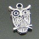 Lot of 200pcs mini Night OWL doll house miniature toy/jewelry Charm