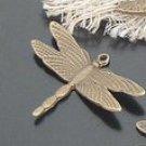 Lot of 300pcs mini Brass Dragonfly dollhouse miniature toy/jewelry Charm
