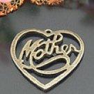 Lot of 200pcs mini Brass Love Mother dollhouse miniature toy/jewelry Charm