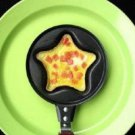 Mini Pancake Fried Frying Egg Pan Pentagram  Shape (No Lid)