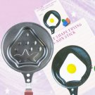 Mini Pancake Fried Frying Egg Pan Strawberry Shape (No Lid)