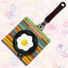 Mini Pancake Fried Frying Egg Pan Flower Shape (No Lid)