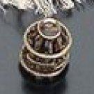 Lot of 200pcs mini Brass bird Cage dollhouse miniature toy/jewelry Charm