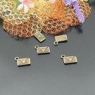 Lot of 500pcs mini Brass Mail dollhouse miniature toy/jewelry Charm CM715