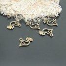 Lot of 100pcs mini Brass Peace Dove dollhouse miniature toy/jewelry Charm B1