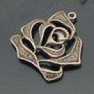 Lot of 200pcs mini Rose flower dollhouse miniature toy/jewelry Charm B11