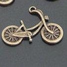 Lot of 200pcs mini Brass Bike dollhouse miniature toy/jewelry Charm
