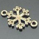 Lot of 500pcs mini Snowflake dollhouse miniature toy/jewelry Charm B1