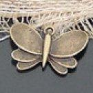 Lot of 200pcs mini Butterfly dollhouse miniature toy/jewelry Charm B3