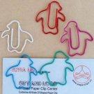 Lot of 96pcs Paper Clip Penguin Shaped/bookmark A2