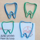 Lot of 96pcs Paper Clip Tooth/Teeth Shaped/bookmark