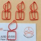 Lot of 96pcs Paper Clip Candle Shaped/bookmark