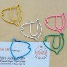 Lot of 96pcs Paper Clip Tropical Fish Shaped/bookmark