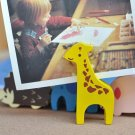 Memo & Name Card Holder Stand Display Giraffe Animal Shaped