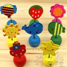 Lot of 8pcs Pop up Memo & Name Card Holder Stand Paper Clip pencil sharpener
