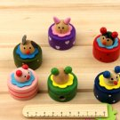 Lot of 36pcs Wood Cartoon Pencil Sharpener/animal Micky mouse