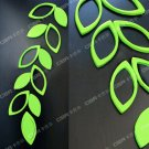 Lot of 2 Sets 3D Solid Leaf/Leave Wall Stickers/Home Decor