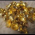 Lot of 500pcs 14mm Gold Plated Jingle Bell Charm