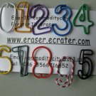 Lot of 96pcs Paper Clip NUMBERS Shaped/Bookmark