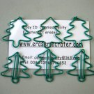 Lot of 96pcs Paper Clip Christmas Tree Shaped
