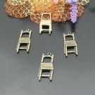 Lot of 200pcs mini Brass Chair dollhouse miniature toy/jewelry Charm B2