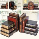 Wooden Stack wood Book Ends Gift/Decor Storage box/jewelry box