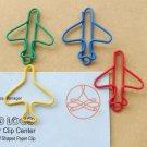 Lot of 96pcs Paper Clip Airplane Shaped / Bookmark office