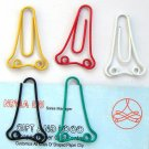 Lot of 96pcs Paper Clip Nose Shaped / Bookmark office