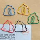 Lot of 96pcs Paper Clip Shit Shaped / Bookmark office