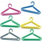 Lot of 96pcs Paper Clip Cloth-Hanger Shaped / Bookmark office