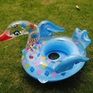 Inflatable Baby Swimming Seat Swan / Floating Ring for Kid