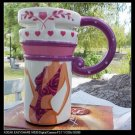 Hand Painted Cup Mug Vase Beauty Beauty Design
