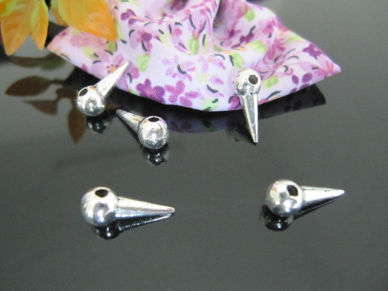 Lot of 100pcs mini Spiker Sign dollhouse miniature toy/jewelry bracelet alloy Charm