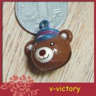 10 x Cartoon Bell Dog Pet Cat Collar Bear B3 animal 2cm