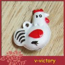 10 x Cartoon Bell Dog Pet Cat Collar Chick Chicken  2cm