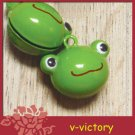 10 x Cartoon Bell Dog Pet Cat Collar Frog 2cm B3