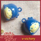10 x Cartoon Bell Dog Pet Cat Collar Girl 2cm