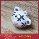 10 x Cartoon Bell Dog Pet Cat Collar Tiger 2cm