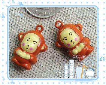 10 x Cartoon Bell Dog Pet Cat Collar Monkey  2cm A2