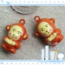 10 x Cartoon Bell Dog Pet Cat Collar Monkey  2cm A2