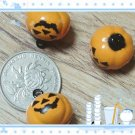 10 x Cartoon Bell Dog Pet Cat Collar Halloween Pumpkin  2cm A2