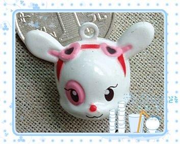 10 x Cartoon Bell Dog Pet Cat Collar Rabbit  2cm A2